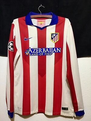 Camiseta Atletico De Madrid Match UnWorn Player Issue Shirt 2014/15 Koke Talla L