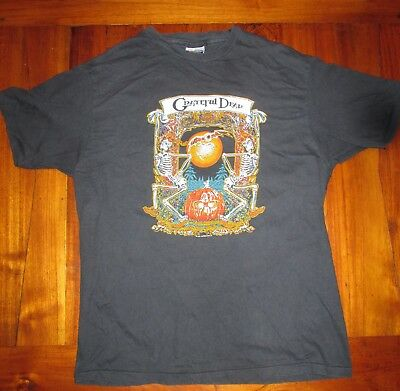 Grateful Dead 1985 fall tour t shirt