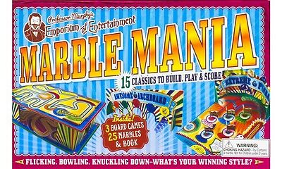 Professor Murphy Games Set Marbles by Parragon (Mixed media product, 2014)