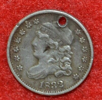 U.S.A. Very Old Silver Coin / 1832