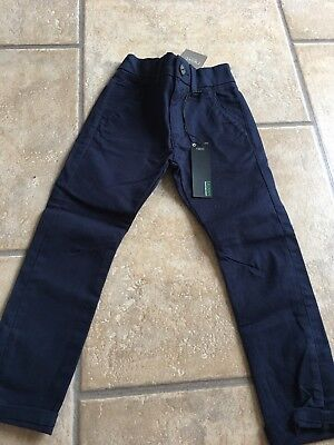 NEXT boys Skinny Fit Navy Chino Age 3 **brand New With Tags**