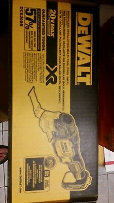 DeWalt 20V MAX XR Brushless Cordless Oscillating Multi-Tool DCS355B Bare Tool