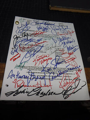 General Hospital TV Show Script Signed By Entire Cast & Crew Episode # 9736