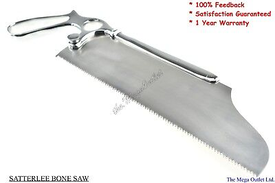 "SATTERLEE BONE SAW Blade Size 9"" - SURGICAL VETERINARY Orthopedic Instruments"