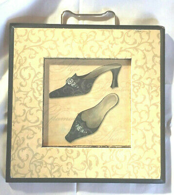 Elegant Wall Decor w/ Picture of Evening Shoes