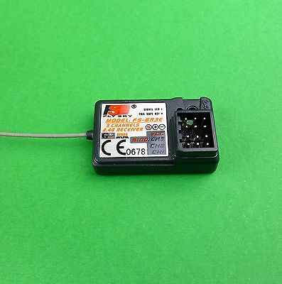 2.4 Ghz 3 ch digital receiver to suit Eurgle Fly Sky Transmitters 1:10 RC