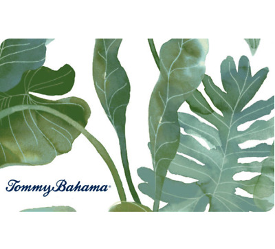 Tommy Bahama Gift Card - $25 $50 or $100 - Email delivery