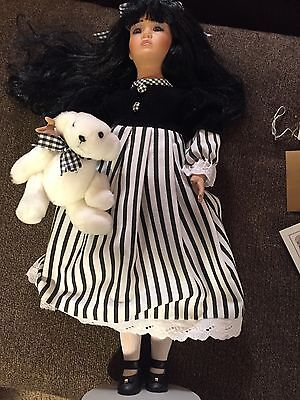 """Collectible doll by Seymour Mann """"Shao Ling"""" LE 516/5000 22.5"""" tall W/COA"""