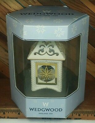 WEDGEWOOD  Christmas Ornament - Lantern Functional - Mint in Box