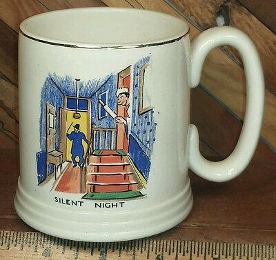 LORD NELSON WARE - ELIJAH COTTON Silent Night 10oz Mug