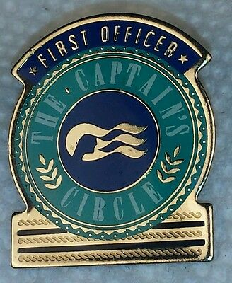 Princess Cruise The Captains Circle First Officer Hat Lapel Pin