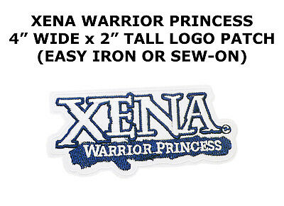 Xena Warrior Princess TV Show Name Logo Embroidered DIY Iron-on Patch NEW UNUSED