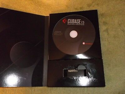 Steinberg Cubase 7.5 Installation Software discs (No licences / Dongle)