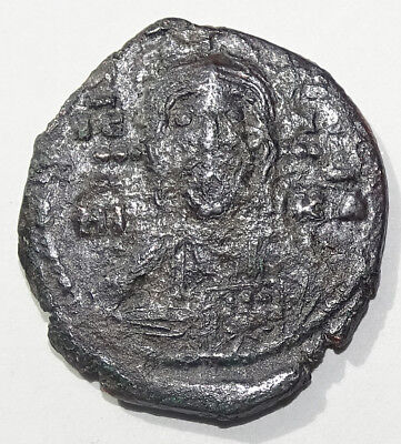 LOT#407 Romanus IV (1068-1071). (bust of Christ). Ancient Byzantine Coin