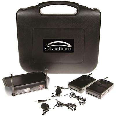 Stadium Twin Wireless Lapel Pack