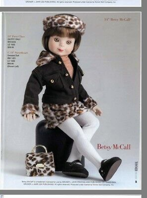 """Tonner Outfit 14"""" Betsy McCalll *FIRST CLASS* NRFB and MINT ORIGINALLY $49"""