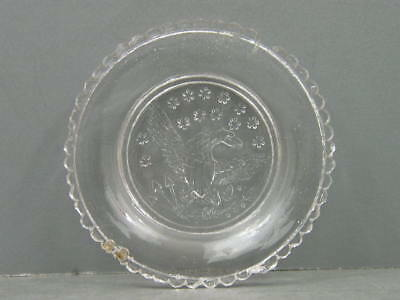 Antique Lacy Period Cup Plate Lee Rose Lr-680A Scarce? Eagle 50 Even Scallops