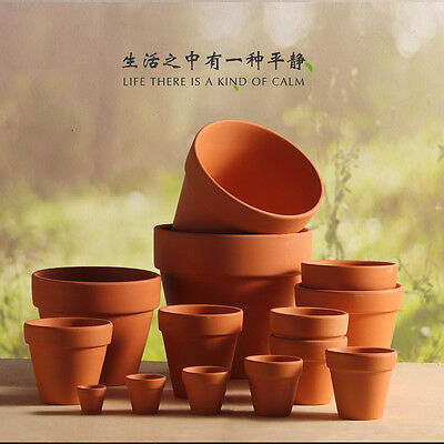 New Terracotta Pot Clay Ceramic Pottery Planter Succulent Flower Pots
