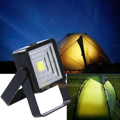 Portable LED Rechargeable Solar Panel Light Outdoor Camping Lantern Hiking Lamps