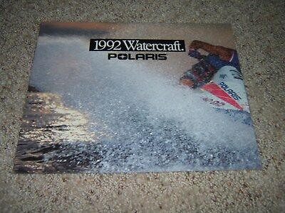 1992 Polaris Sea Lion personal watercraft PWC original brochure vintage