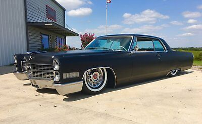 1966 Cadillac DeVille  1966 Cadillac Coupe DeVille, Air Ride, Bagged