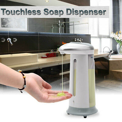 Automatic Handsfree Sensor Soap Sanitizer Dispenser Touch-free Kitchen Bathroom