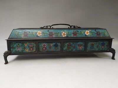Ancient Chinese cloisonne censers pure handmade fine shape