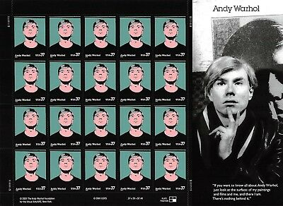 Andy WarholFace $7.40 S001277