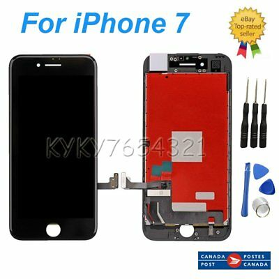 """LCD Touch Screen Glass Digitier Display Replacement for iPhone 7G 4.7"""" Black New"""