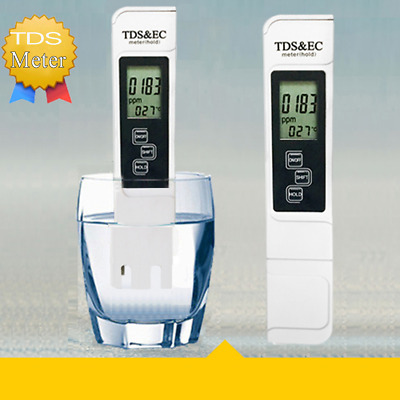 TDS Detector Portable Pen Tester Digital Water Resist Meter Lab Test PH Meter