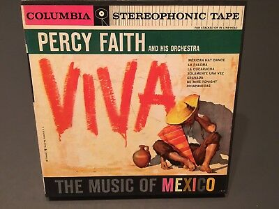Columbia Viva Percy Faith The Music of Mexico Reel to Reel Tape