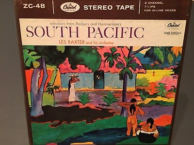 South Pacific Les Baxter Capitol Records Reel to Reel Tape
