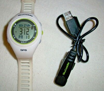 GPS Golf Watch - White and Green - skycaddie - Best Offers Welcome.
