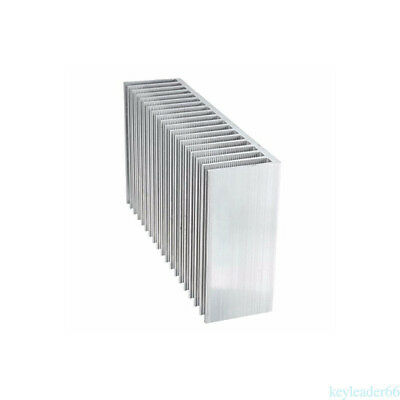 Large Aluminum Heatsink Heat Sink Radiator Cooling Fin fr LED Power Amplifier X6