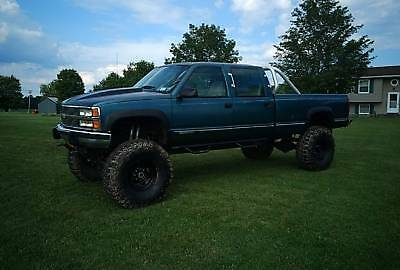1993 Chevrolet Silverado 3500  Chevy Silverado 3500 4x4 454 supercharged lifted  solid axle lift supercharger