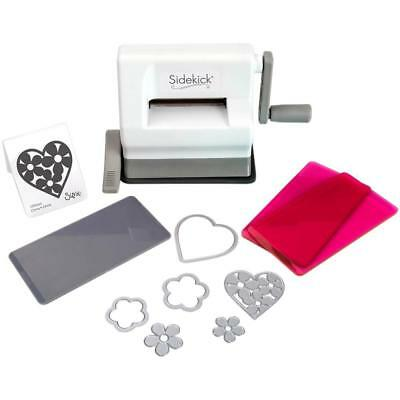 Sizzix Sidekick Starter Kit - White Machine with Pink Plates - PreOrder December