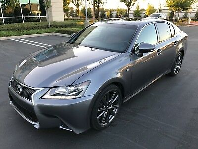 2015 Lexus GS 350 F Sport Sedan 4-Door 2015 LEXUS GS 350 F SPORT, ONLY 16K MI, NAVIGATION, HEATED & COOLED SEATS!