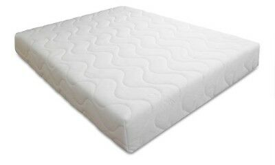 "Memory Foam Mattress 5"" Single Double King 4Ft6 5Ft Bed Size Matress +Cool Cover"