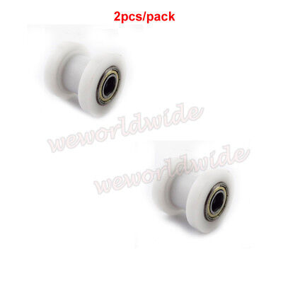 2X 10mm Chain Roller Pulley Tensioner For 50-160cc Pit Dirt Bike KLX CRF XR 50