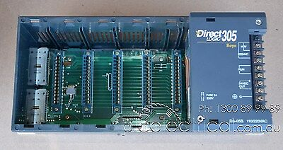 KOYO DirectLOGIC 305 Five Slot Chassis with 110/220VAC Power Supply