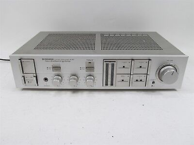 Vintage Pioneer A-40 Stereo Amplifier Non Switching Amp