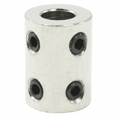 6mm x 8mm Bore Stainless Steel Robot Motor Wheel Coupling Coupler 6mm to 8m L5M1
