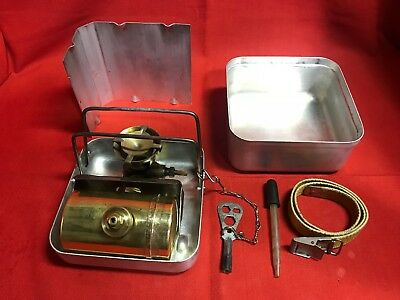 Vintage Optimus Model 99 Gasoline or Camp Fuel Backpacking Stove Made in Sweden