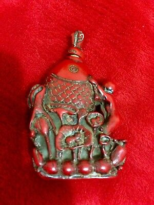 Beautifully Carved Snuff Bottle