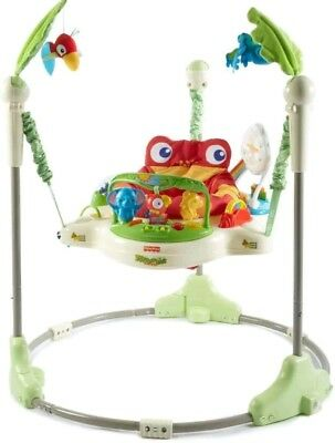 Fisher Price Rainforest Jumperoo musical baby jumper good condition Pakenham