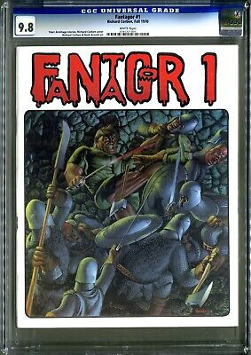Fantagor #1 (Richard Corben 1970) 1st Print! CGC 9.8 NM++ White! Extremely Rare!