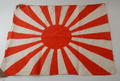 Excellent!! Japanese WW2 Army/Navy Rising Sun Cloth Hata #a6031