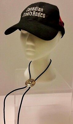 Canadian Finals Rodeo Bolo Tie Hat Molson Brewery Beer Palace Casino Edmonton