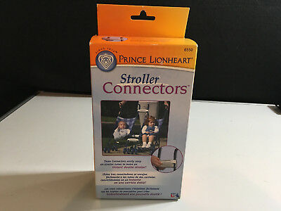 Prince Lionheart Stroller Connectors ~ Connect with Ease ~ Create a tandem NEW
