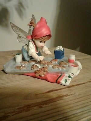 "ENESCO Little  Kitchen Fairies ""Busy Cookie"" 2010  3"" H."
